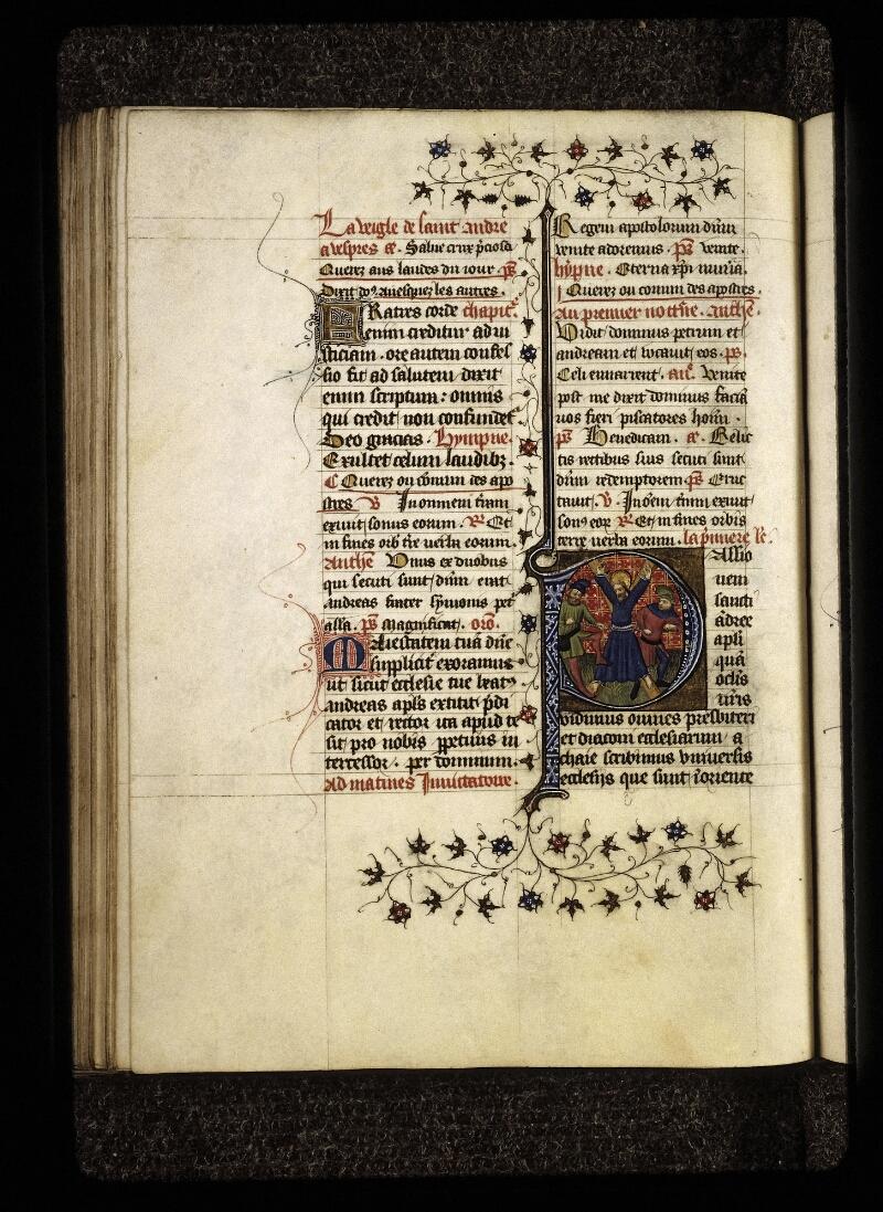 Lyon, Bibl. mun., ms. 0574, f. 142v - vue 1