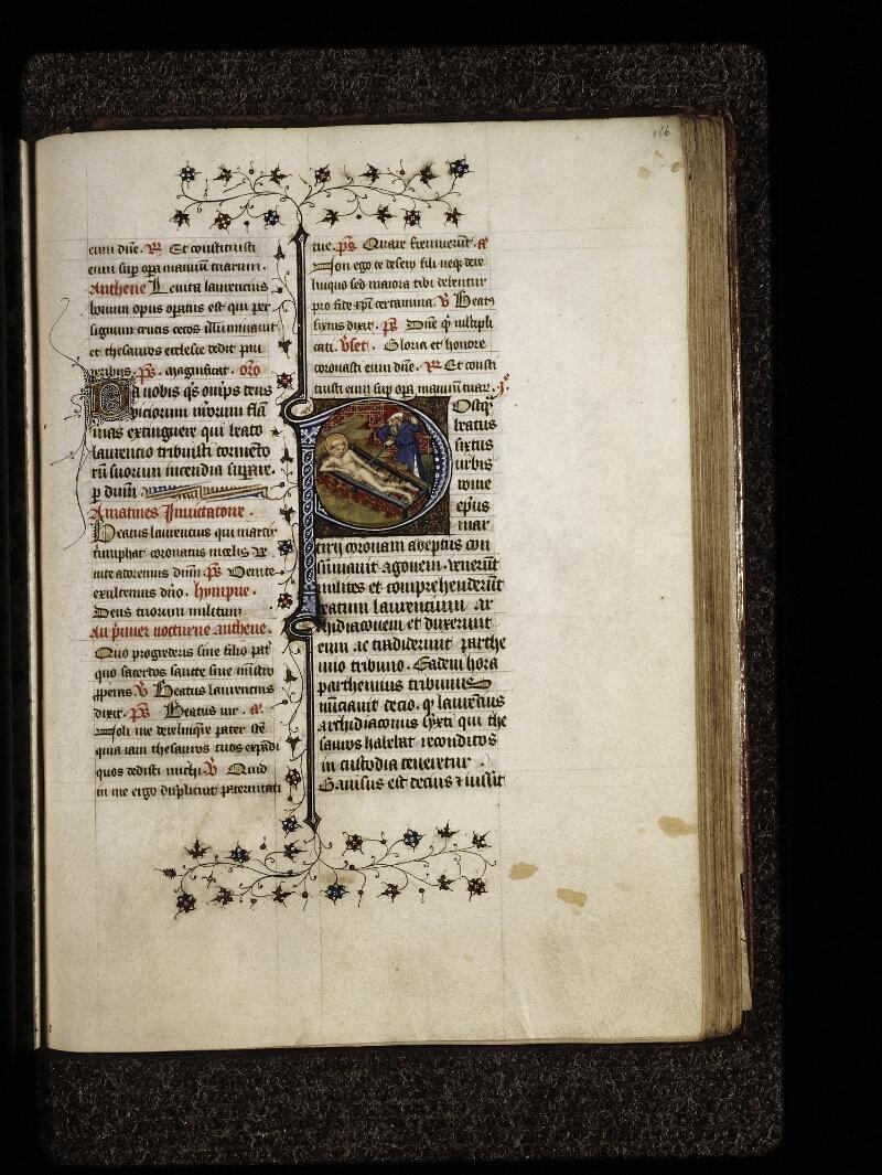 Lyon, Bibl. mun., ms. 0574, f. 186 - vue 1