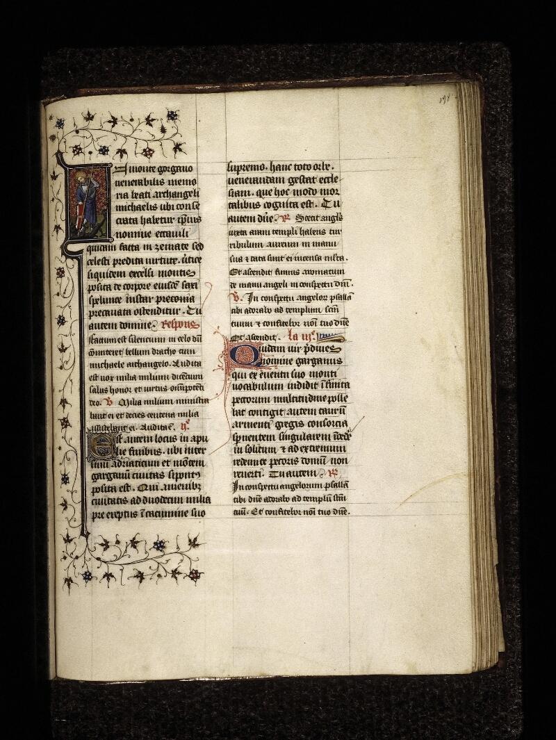 Lyon, Bibl. mun., ms. 0574, f. 198 - vue 1
