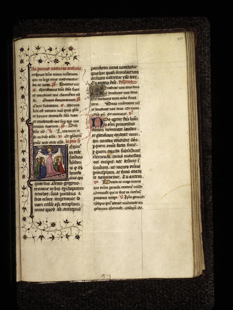 Lyon, Bibl. mun., ms. 0574, f. 201 - vue 1