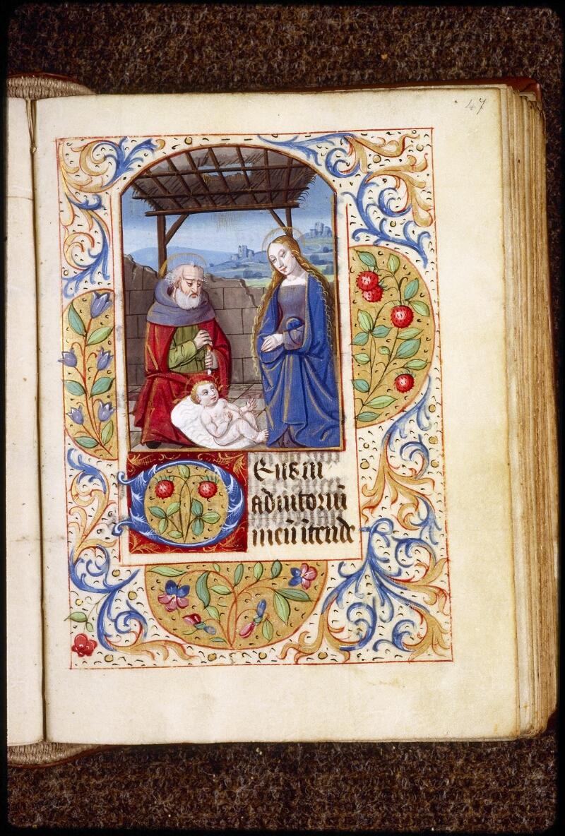 Lyon, Bibl. mun., ms. 0577, f. 047 - vue 1