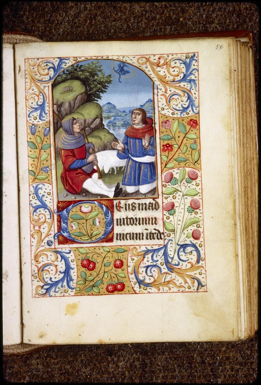 Lyon, Bibl. mun., ms. 0577, f. 056 - vue 1