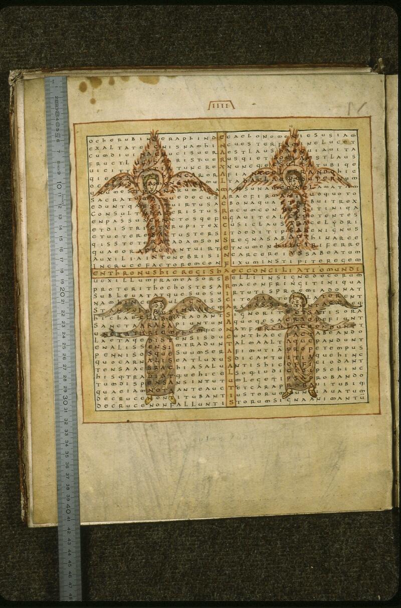 Lyon, Bibl. mun., ms. 0597, f. 001v - vue 1