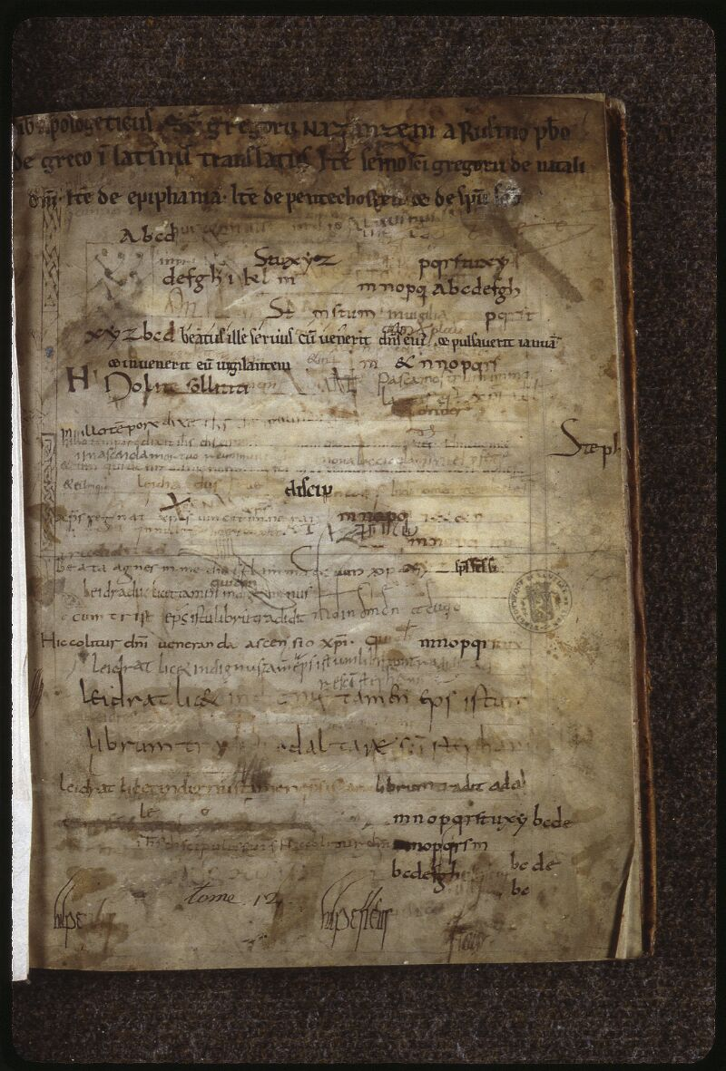 Lyon, Bibl. mun., ms. 0599, f. 001