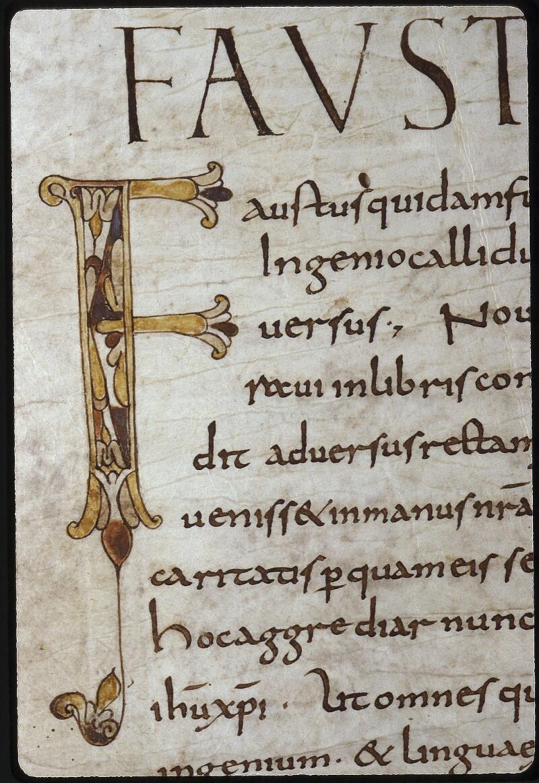 Lyon, Bibl. mun., ms. 0610, f. 001v - vue 3
