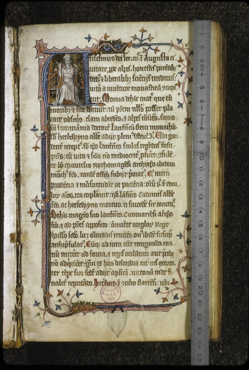 Lyon, Bibl. mun., ms. 0622, f. 001 - vue 1