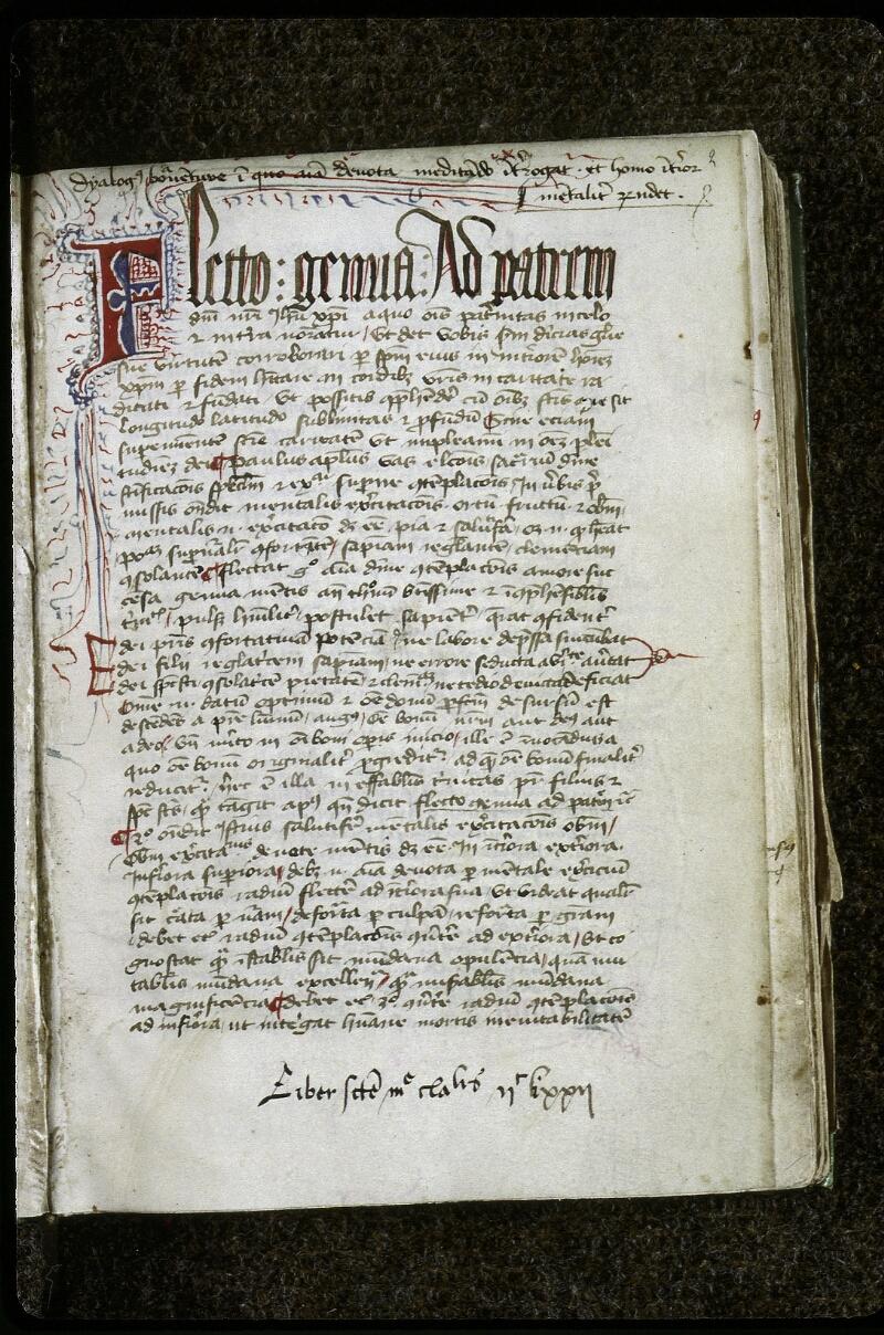 Lyon, Bibl. mun., ms. 0623, f. 002 - vue 2