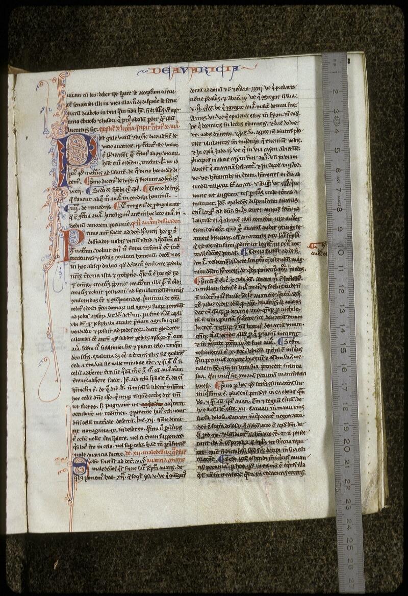 Lyon, Bibl. mun., ms. 0678, f. 031 - vue 1