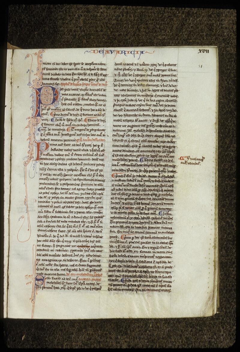 Lyon, Bibl. mun., ms. 0678, f. 031 - vue 2