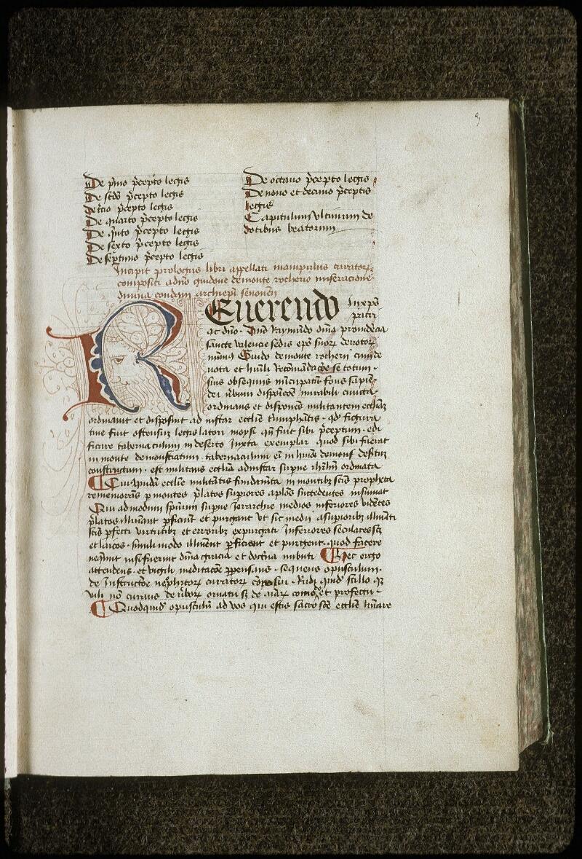 Lyon, Bibl. mun., ms. 0709, f. 003 - vue 2