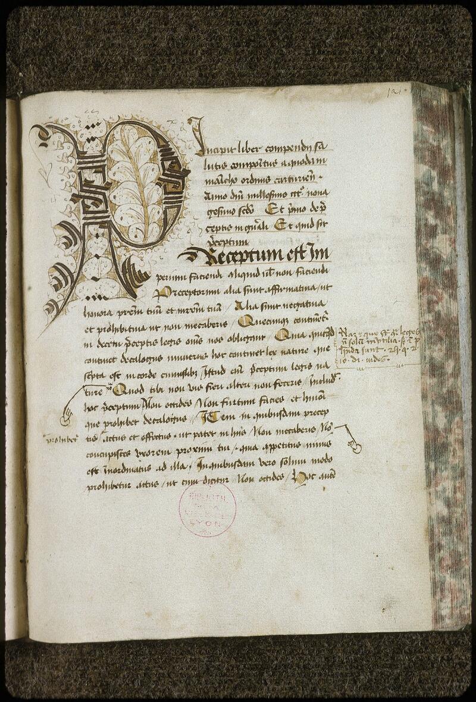 Lyon, Bibl. mun., ms. 0709, f. 121