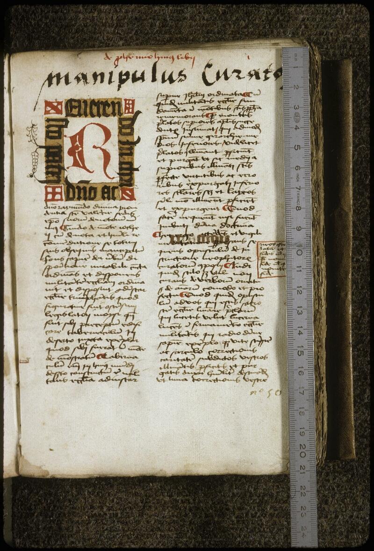 Lyon, Bibl. mun., ms. 0710, f. 002 - vue 1