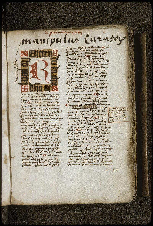 Lyon, Bibl. mun., ms. 0710, f. 002 - vue 2