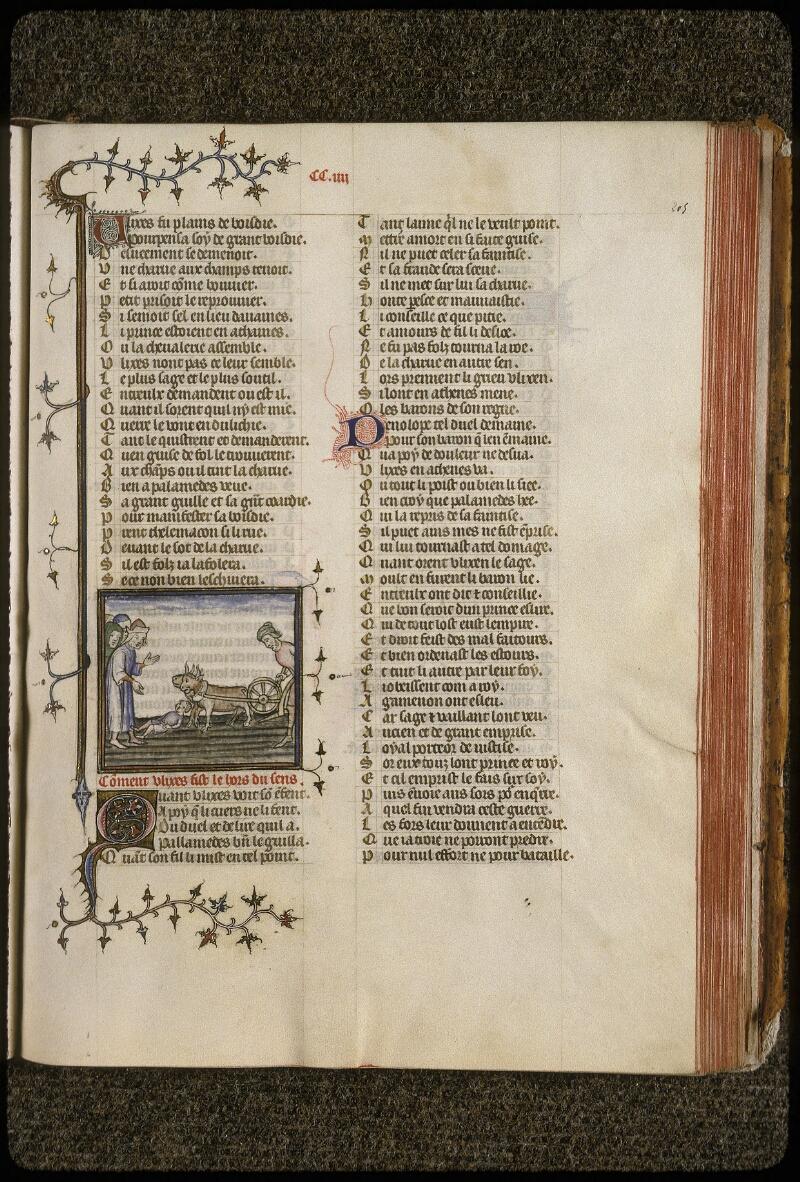 Lyon, Bibl. mun., ms. 0742, f. 205 - vue 1