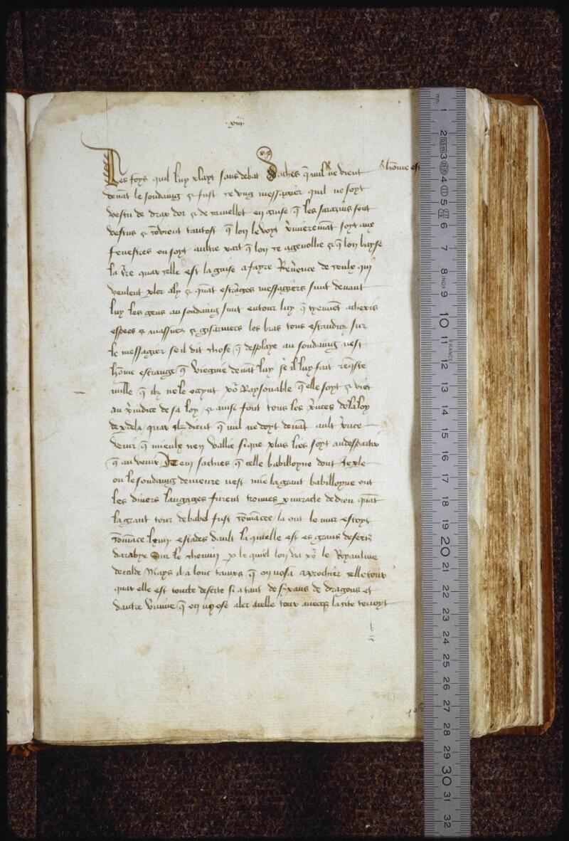 Lyon, Bibl. mun., ms. 0769, f. 002 - vue 1