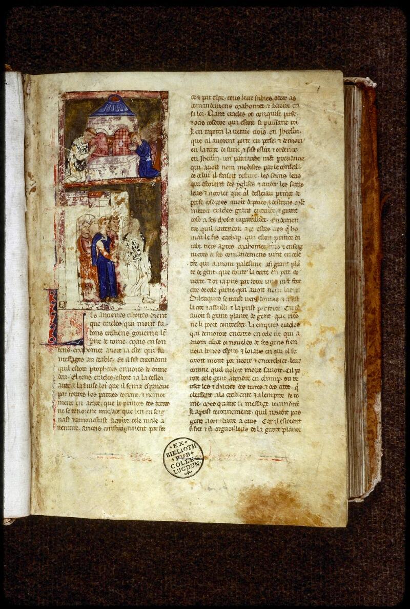 Lyon, Bibl. mun., ms. 0828, f. 001 - vue 2