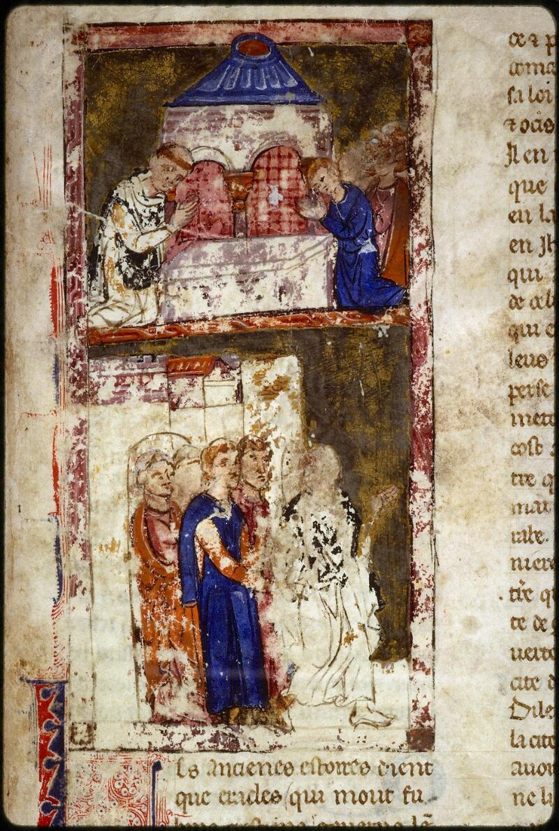Lyon, Bibl. mun., ms. 0828, f. 001 - vue 3