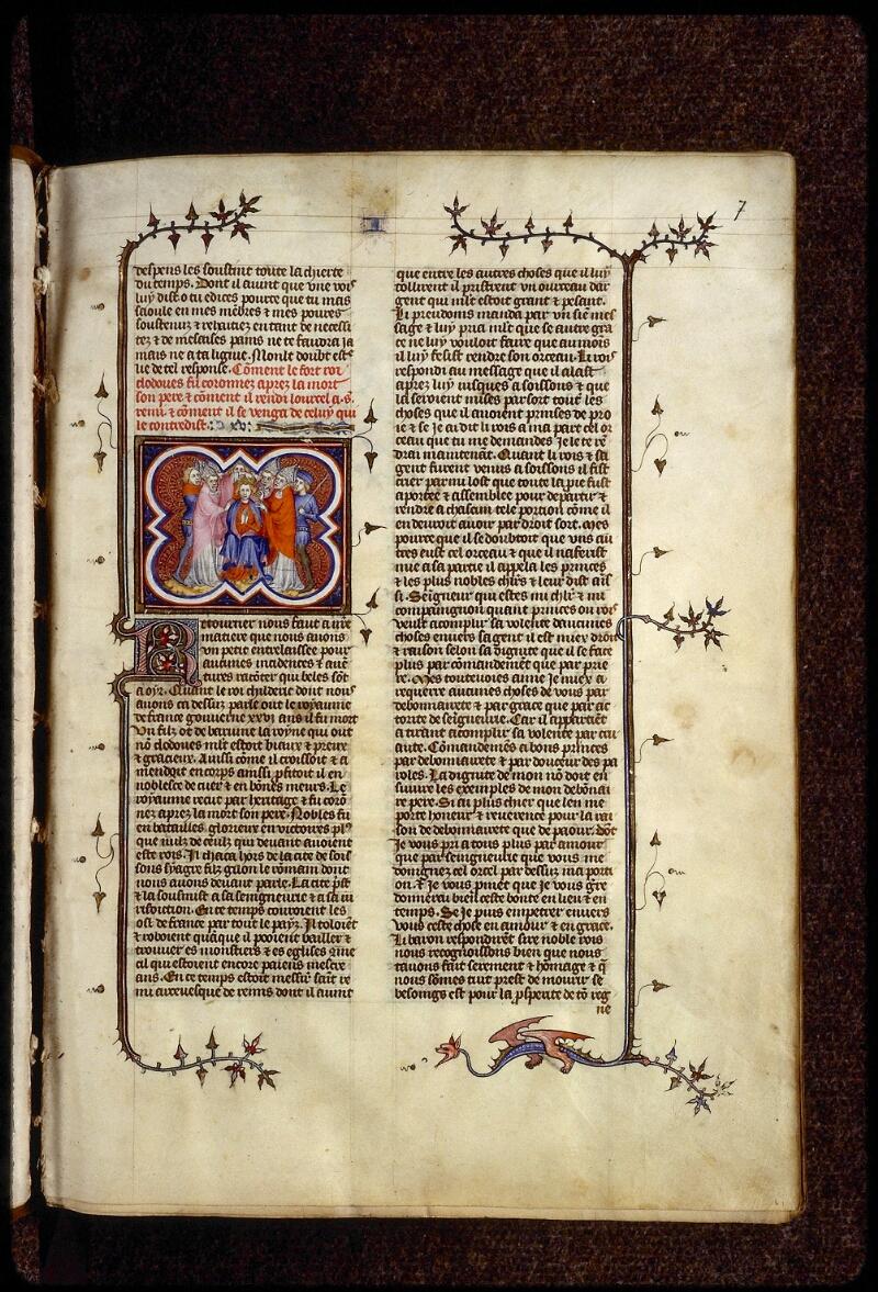 Lyon, Bibl. mun., ms. 0880, f. 007 - vue 1