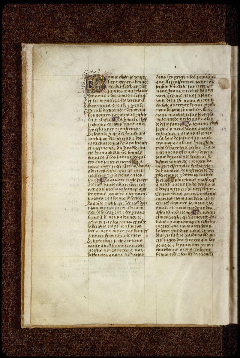 Lyon, Bibl. mun., ms. 1234, f. 001v - vue 2