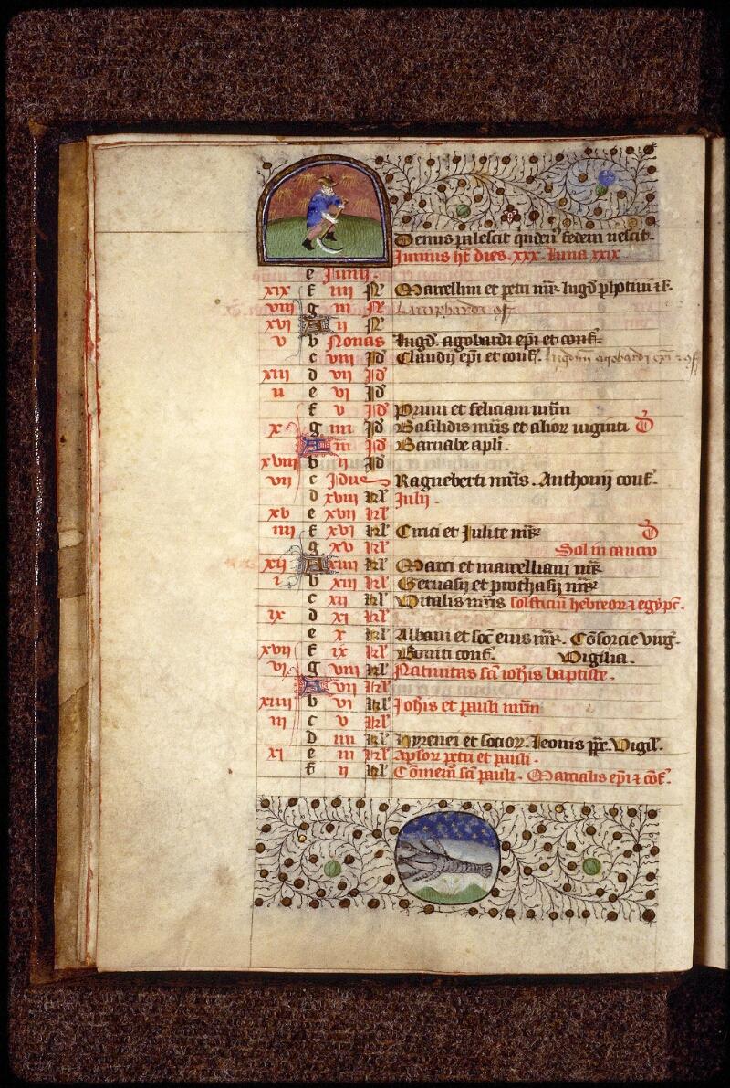 Lyon, Bibl. mun., ms. 1390, f. 004v - vue 1