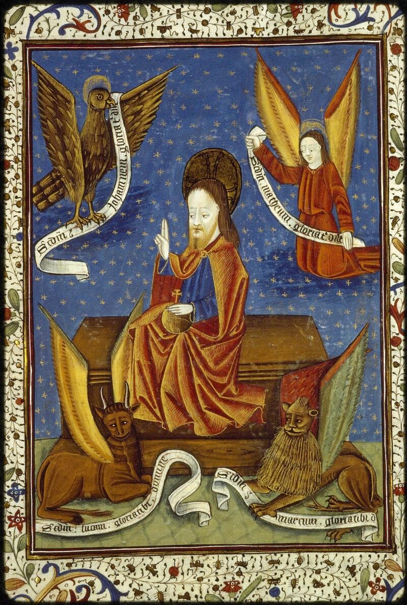 Lyon, Bibl. mun., ms. 1392, f. 115 - vue 1