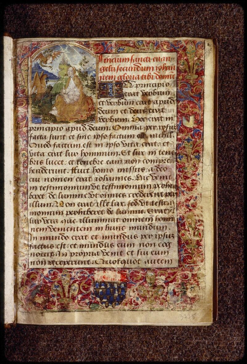 Lyon, Bibl. mun., ms. 1402, f. 001 - vue 2