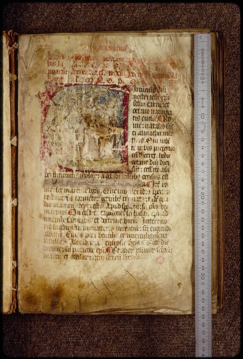 Lyon, Bibl. mun., ms. 1536, f. 001 - vue 1