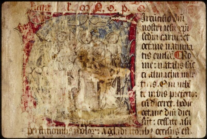 Lyon, Bibl. mun., ms. 1536, f. 001 - vue 3