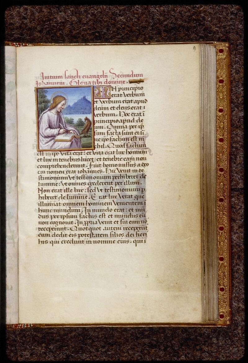 Lyon, Bibl. mun., ms. 1558, f. 009 - vue 1