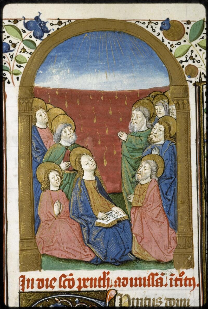 Lyon, Bibl. mun., ms. 5124, f. 122v - vue 2