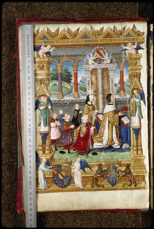 Lyon, Bibl. mun., ms. 5125, f. 003v - vue 1