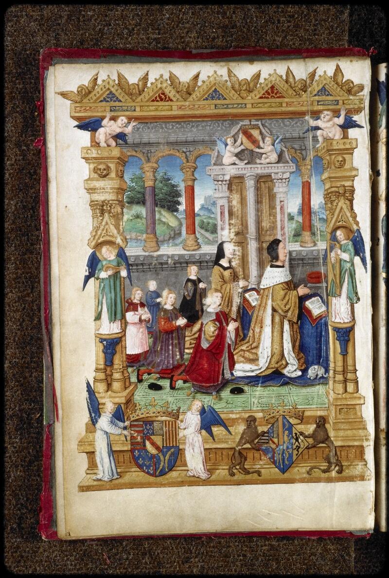 Lyon, Bibl. mun., ms. 5125, f. 003v - vue 2