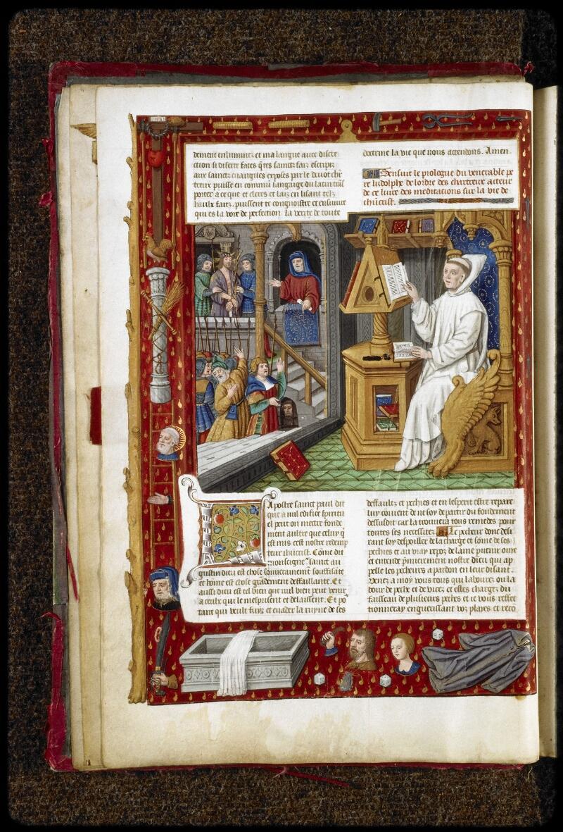 Lyon, Bibl. mun., ms. 5125, f. 005v - vue 1