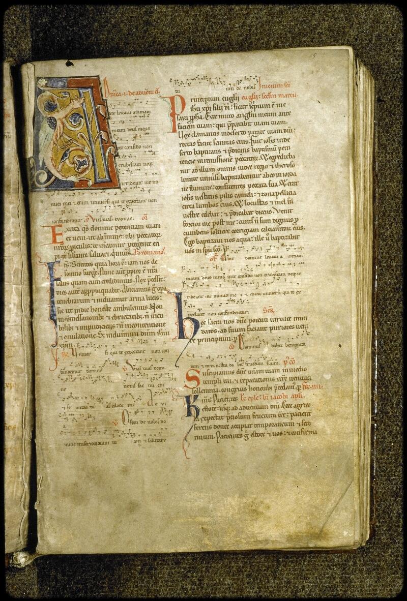 Lyon, Bibl. mun., ms. 5126, f. 005 - vue 2