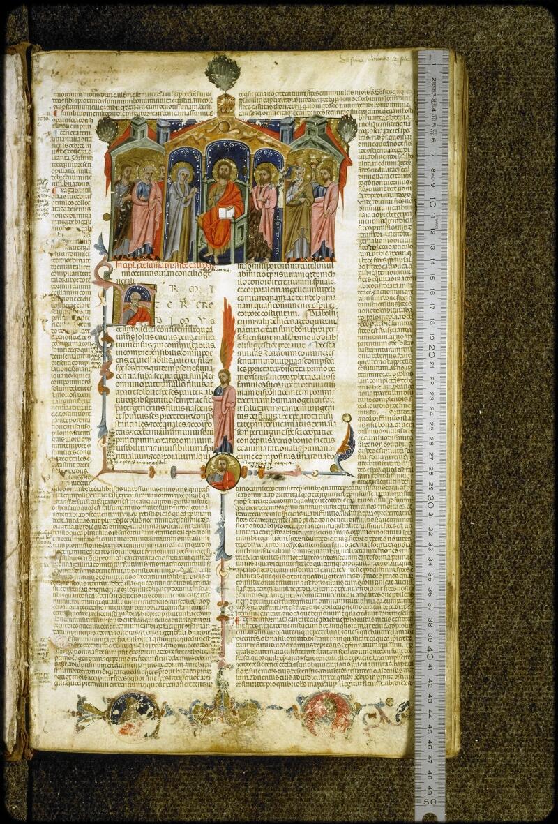 Lyon, Bibl. mun., ms. 5127, f. 001 - vue 1