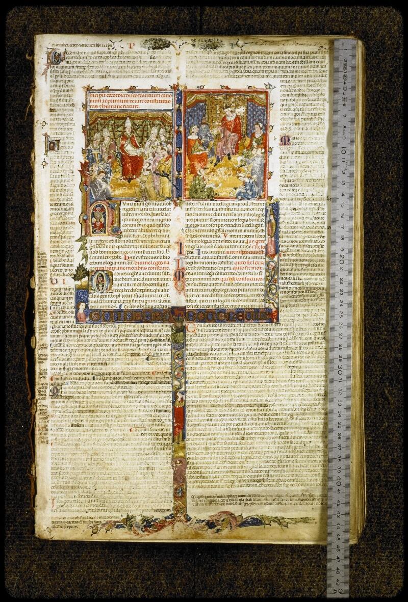 Lyon, Bibl. mun., ms. 5128, f. 001 - vue 1