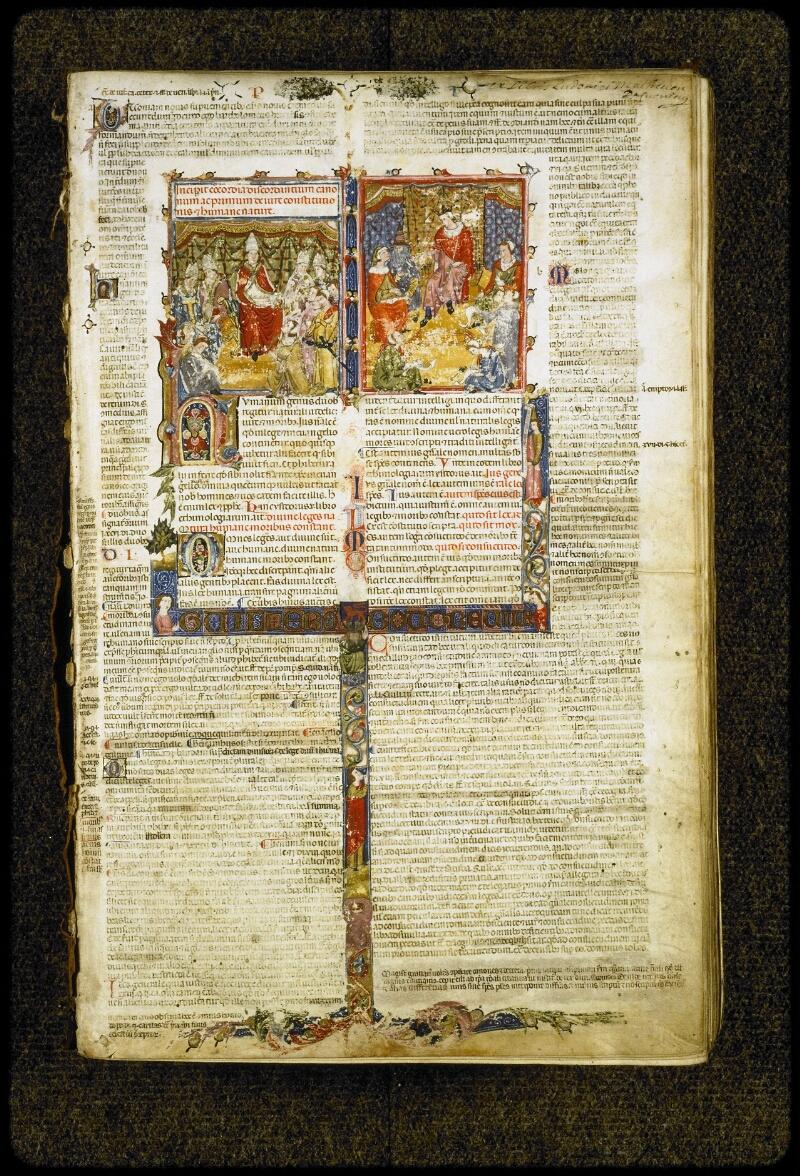 Lyon, Bibl. mun., ms. 5128, f. 001 - vue 2