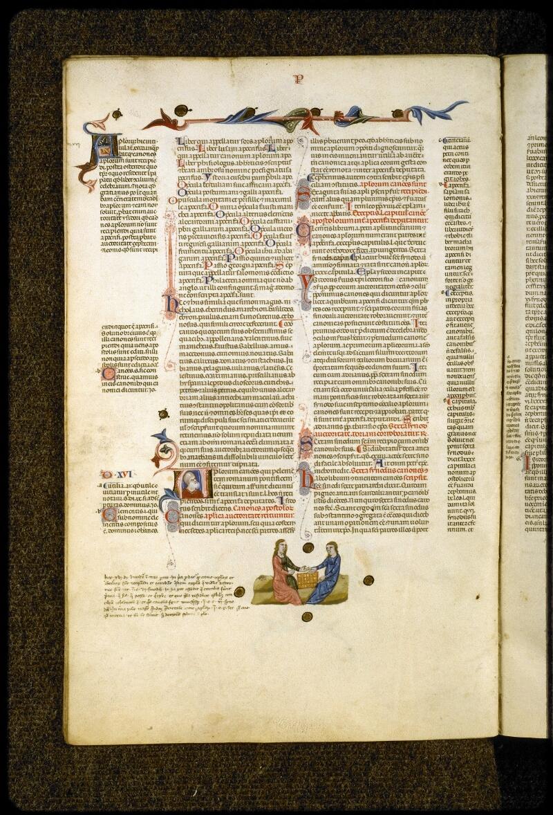Lyon, Bibl. mun., ms. 5128, f. 009v - vue 1