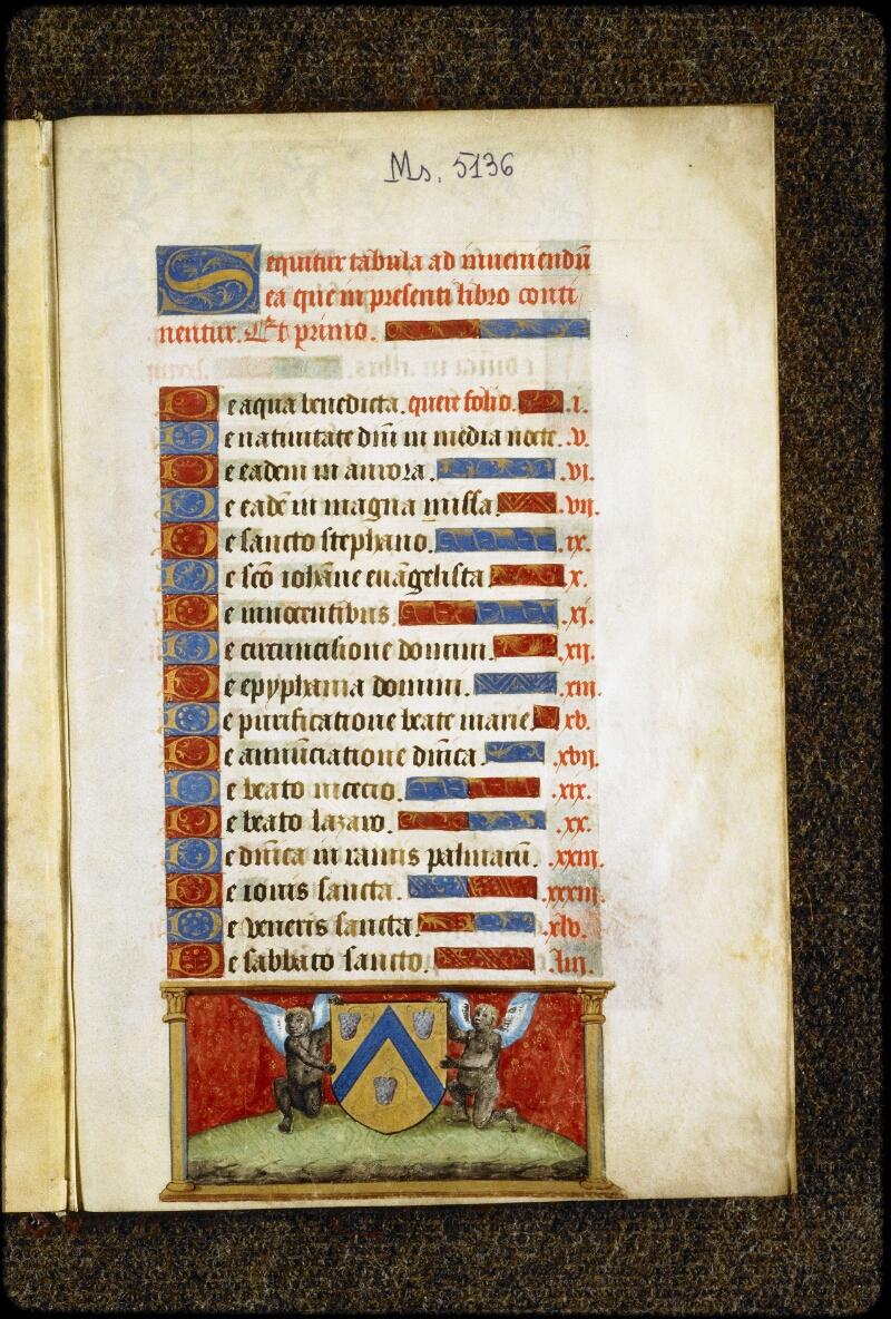 Lyon, Bibl. mun., ms. 5136, f. 000A - vue 2