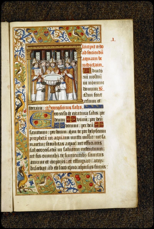 Lyon, Bibl. mun., ms. 5136, f. 001 - vue 1