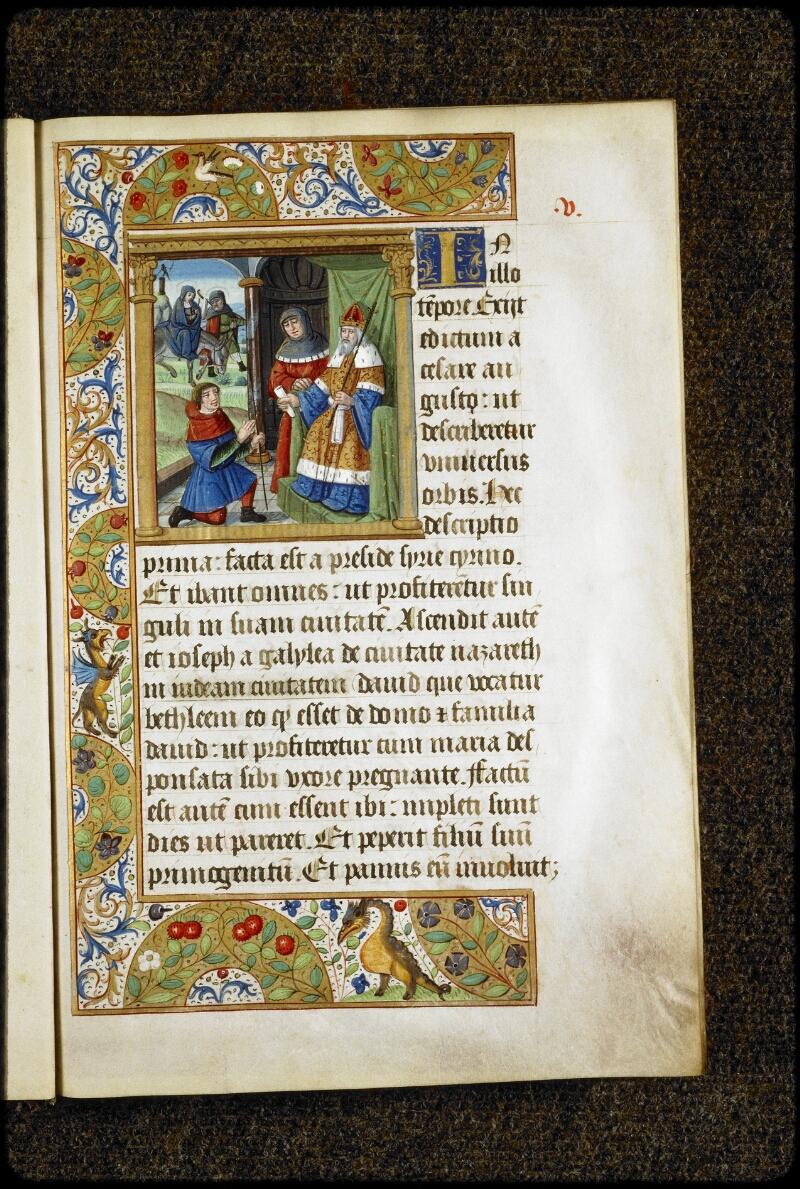 Lyon, Bibl. mun., ms. 5136, f. 005 - vue 1