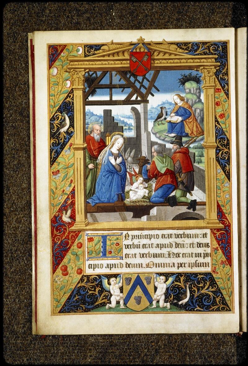 Lyon, Bibl. mun., ms. 5136, f. 007v - vue 1
