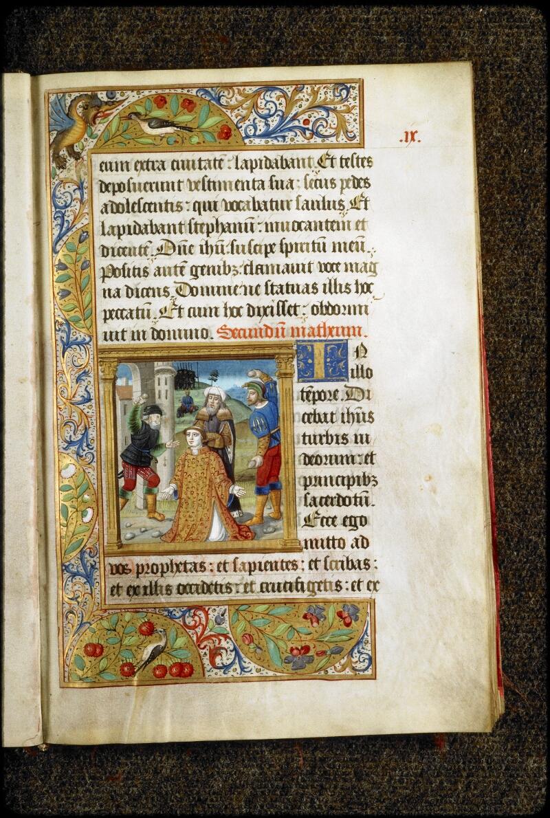 Lyon, Bibl. mun., ms. 5136, f. 009 - vue 1