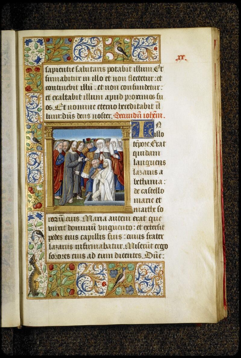 Lyon, Bibl. mun., ms. 5136, f. 020 - vue 1