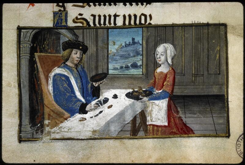 Lyon, Bibl. mun., ms. 5141, f. 001 - vue 3