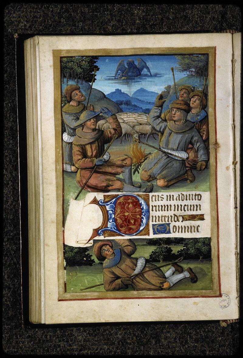 Lyon, Bibl. mun., ms. 5141, f. 060v - vue 1