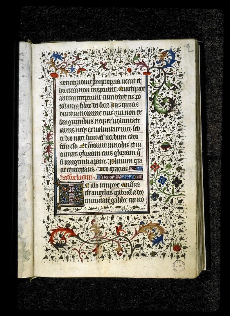 Lyon, Bibl. mun., ms. 5142, f. 002