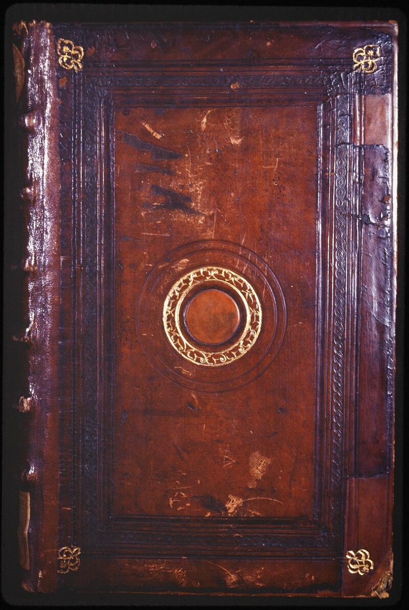 Lyon, Bibl. mun., ms. Coste 0101, reliure plat sup.