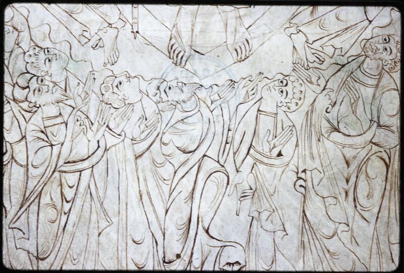 Lyon, Bibl. mun., ms. Palais des Arts 022, f. 001v - vue 3