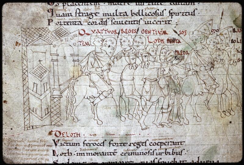 Lyon, Bibl. mun., ms. Palais des Arts 022, f. 002v - vue 2